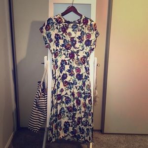 Zara Dresses - ZARA Midi floral dress